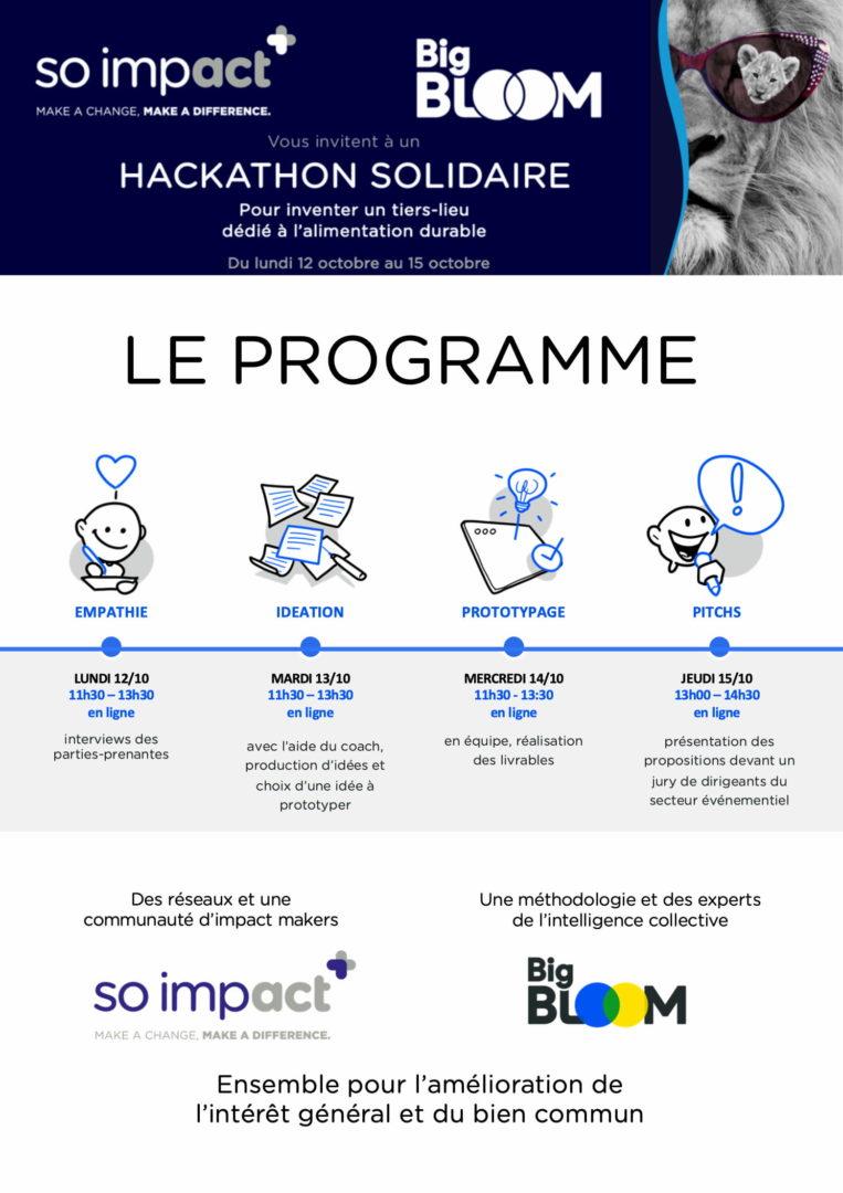 Hackathon Solidaire So impact